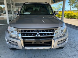 2016 Mitsubishi Pajero NX MY16 Exceed Silver 5 Speed Sports Automatic Wagon.