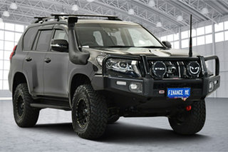 2018 Toyota Landcruiser Prado GDJ150R GXL Black 6 Speed Sports Automatic Wagon.
