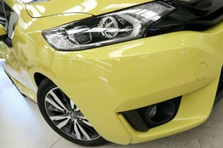 2014 Honda Jazz GF MY15 VTi-L Attract Yellow 1 Speed Constant Variable Hatchback.