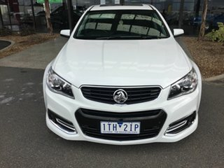 2013 Holden Commodore VF SS-V Redline White 6 Speed Automatic Sedan.