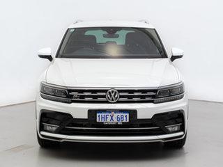 2017 Volkswagen Tiguan 5NA 162 TSI Highline White 7 Speed Auto Direct Shift Wagon.