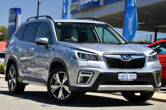 Used Subaru Forester S5 MY20 2.5i-S CVT AWD Melville, 2020 Subaru Forester S5 MY20 2.5i-S CVT AWD Ice Silver 7 Speed Constant Variable Wagon