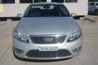 2010 Ford Falcon FG G6 Silver 6 Speed Sports Automatic Sedan.