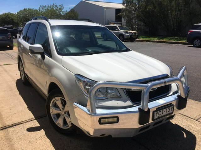 Used Subaru Forester S4 2.0D-L Dubbo, 2015 Subaru Forester S4 2.0D-L White Constant Variable