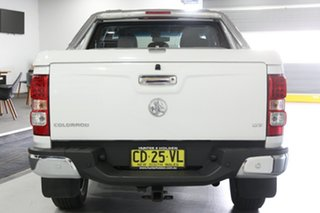 2015 Holden Colorado RG MY15 LTZ (4x2) White 6 Speed Automatic Crew Cab Pickup