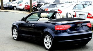 2009 Audi A3 8P MY10 TFSI S Tronic Ambition Dark Blue 6 Speed Sports Automatic Dual Clutch
