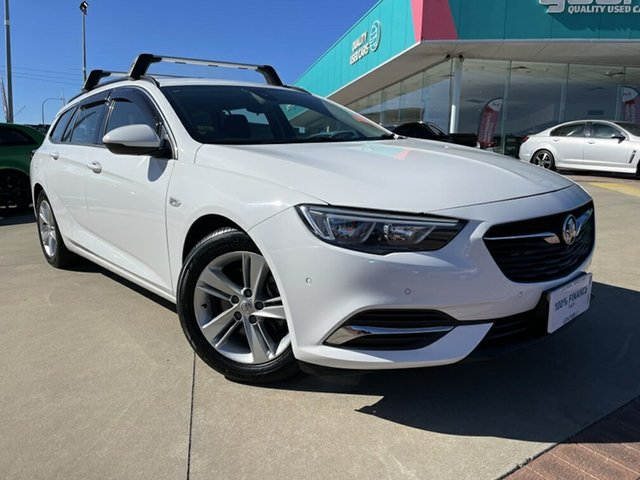 Used Holden Commodore ZB LT Victoria Park, 2018 Holden Commodore ZB LT White 9 Speed Automatic Sportswagon