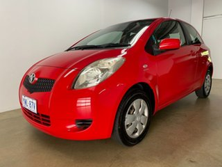 2007 Toyota Yaris NCP90R YR Red 5 Speed Manual Hatchback