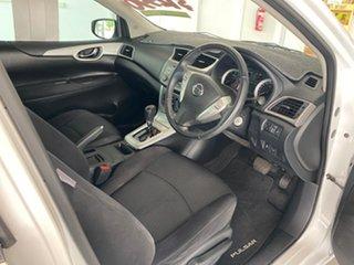 2013 Nissan Pulsar C12 ST-S White Continuous Variable Hatchback