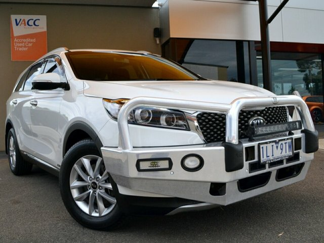 Used Kia Sorento UM MY17 Si AWD Fawkner, 2017 Kia Sorento UM MY17 Si AWD White 6 Speed Sports Automatic Wagon