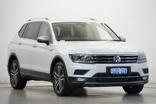 2018 Volkswagen Tiguan 5N MY18 140TDI Highline DSG 4MOTION Allspace White 7 Speed