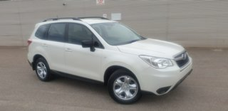 2013 Subaru Forester S4 MY14 2.5i Lineartronic AWD White 6 Speed Constant Variable Wagon.