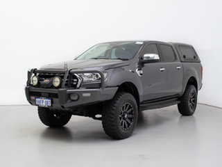 2018 Ford Ranger PX MkIII MY19 XLT 3.2 (4x4) Grey 6 Speed Automatic Double Cab Pick Up.