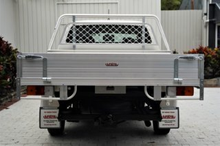 2012 Toyota Hilux TGN16R MY12 Workmate Double Cab 4x2 White 4 Speed Automatic Utility