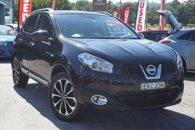 Used Nissan Dualis J10W Series 3 MY12 Ti-L Hatch X-tronic 2WD Phillip, 2013 Nissan Dualis J10W Series 3 MY12 Ti-L Hatch X-tronic 2WD Black 6 Speed Constant Variable