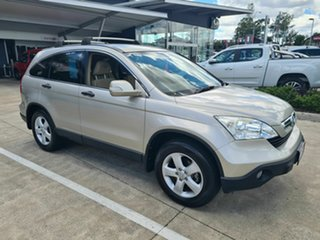 2008 Honda CR-V RE MY2007 Special Edition 4WD Gold 6 Speed Manual Wagon.