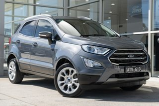 2018 Ford Ecosport BL Titanium Grey 6 Speed Automatic Wagon.