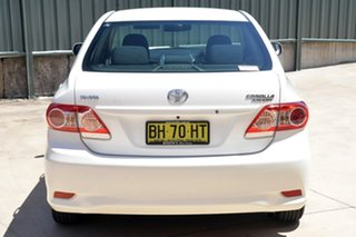 2010 Toyota Corolla ZRE152R MY10 Ascent White 4 Speed Automatic Sedan