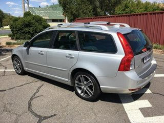 2012 Volvo V50 MY12 T5 Geartronic Lifestyle Silver 5 Speed Sports Automatic Wagon