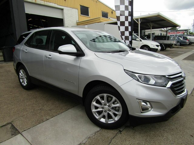 Used Holden Equinox EQ MY18 LS+ FWD Moorooka, 2018 Holden Equinox EQ MY18 LS+ FWD Silver 6 Speed Sports Automatic Wagon