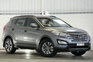 2013 Hyundai Santa Fe DM MY14 Active Grey 6 Speed Sports Automatic Wagon.