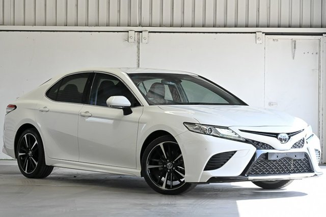Used Toyota Camry GSV70R SX Laverton North, 2018 Toyota Camry GSV70R SX White 8 Speed Sports Automatic Sedan