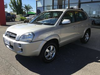 2007 Hyundai Tucson MY07 City SX Silver 5 Speed Manual Wagon.