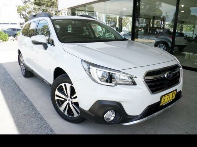 Used Subaru Outback MY19 2.5i AWD Wangaratta, 2019 Subaru Outback MY19 2.5i AWD White Continuous Variable Wagon