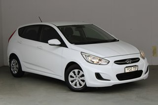2015 Hyundai Accent RB2 MY15 Active 4 Speed Sports Automatic Hatchback.