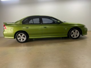2003 Holden Commodore VY S Green 4 Speed Automatic Sedan.