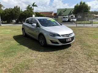 2013 Opel Astra AS Select Silver 6 Speed Sports Automatic Hatchback.