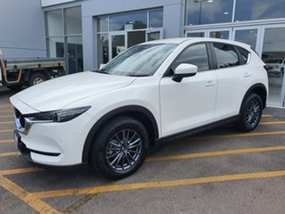 2019 Mazda CX-5 KF2W7A Maxx SKYACTIV-Drive FWD Sport White 6 Speed Sports Automatic Wagon