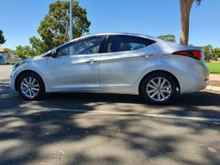 2015 Hyundai Elantra MD3 SE Silver 6 Speed Sports Automatic Sedan