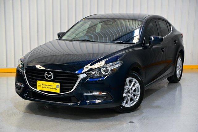 Used Mazda 3 BM5278 Maxx SKYACTIV-Drive Hendra, 2016 Mazda 3 BM5278 Maxx SKYACTIV-Drive Blue 6 Speed Sports Automatic Sedan