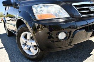 2007 Kia Sorento BL MY07 EX Black/Grey 5 Speed Sports Automatic Wagon.