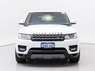2013 Land Rover Range Rover LW Sport 3.0 TDV6 SE Fuji White 8 Speed Automatic Wagon.