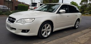 2008 Subaru Liberty MY08 2.5I Heritage Pearl White 4 Speed Auto Elec Sportshift Wagon.