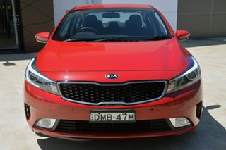 2017 Kia Cerato YD MY17 SI Red 6 Speed Sports Automatic Sedan