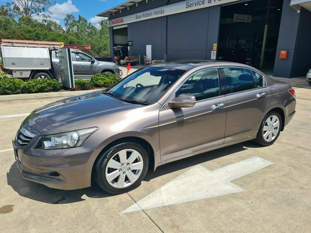 Used Honda Accord 8th Gen MY10 V6 Luxury Yamanto, 2010 Honda Accord 8th Gen MY10 V6 Luxury Bronze 5 Speed Sports Automatic Sedan
