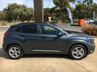 2020 Hyundai Kona Os.v4 MY21 Elite 2WD Dark Knight 8 Speed Constant Variable Wagon.