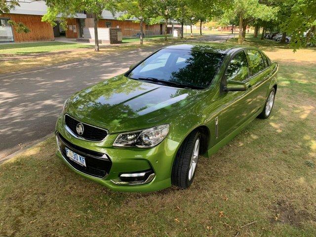 Used Holden Commodore VF II MY16 SV6 Launceston, 2016 Holden Commodore VF II MY16 SV6 Green 6 Speed Sports Automatic Sedan
