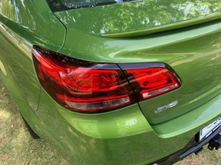 2016 Holden Commodore VF II MY16 SV6 Green 6 Speed Sports Automatic Sedan