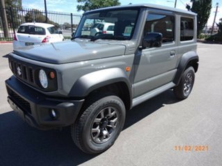 2021 Suzuki Jimny Medium Grey 5 Speed Manual 4x4 Wagon