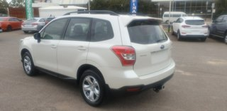 2013 Subaru Forester S4 MY14 2.5i Lineartronic AWD White 6 Speed Constant Variable Wagon