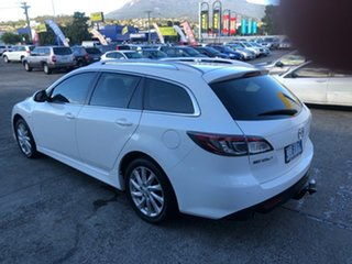2011 Mazda 6 GH1052 MY12 Touring White 5 Speed Sports Automatic Wagon