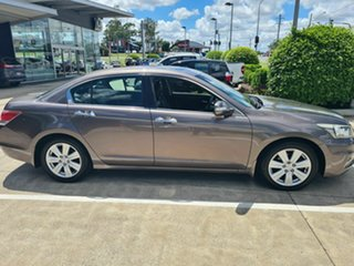 2010 Honda Accord 8th Gen MY10 V6 Luxury Bronze 5 Speed Sports Automatic Sedan.