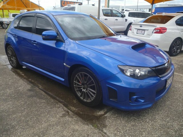 Used Subaru Impreza G3 MY13 WRX AWD Morayfield, 2012 Subaru Impreza G3 MY13 WRX AWD Blue 5 Speed Manual Hatchback