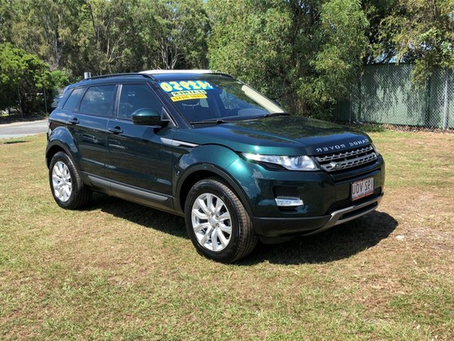 Used Land Rover Range Rover Evoque L538 MY15 Pure Kippa-Ring, 2014 Land Rover Range Rover Evoque L538 MY15 Pure Green 9 Speed Sports Automatic Wagon