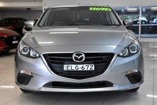 2014 Mazda 3 BM5476 Maxx SKYACTIV-MT Silver 6 Speed Manual Hatchback