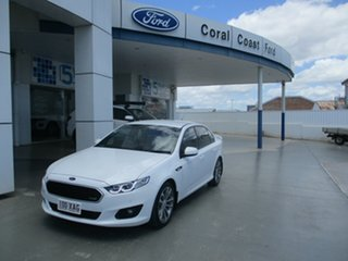 2016 Ford Falcon FG X XR6 White 6 Speed Auto Seq Sportshift Sedan.